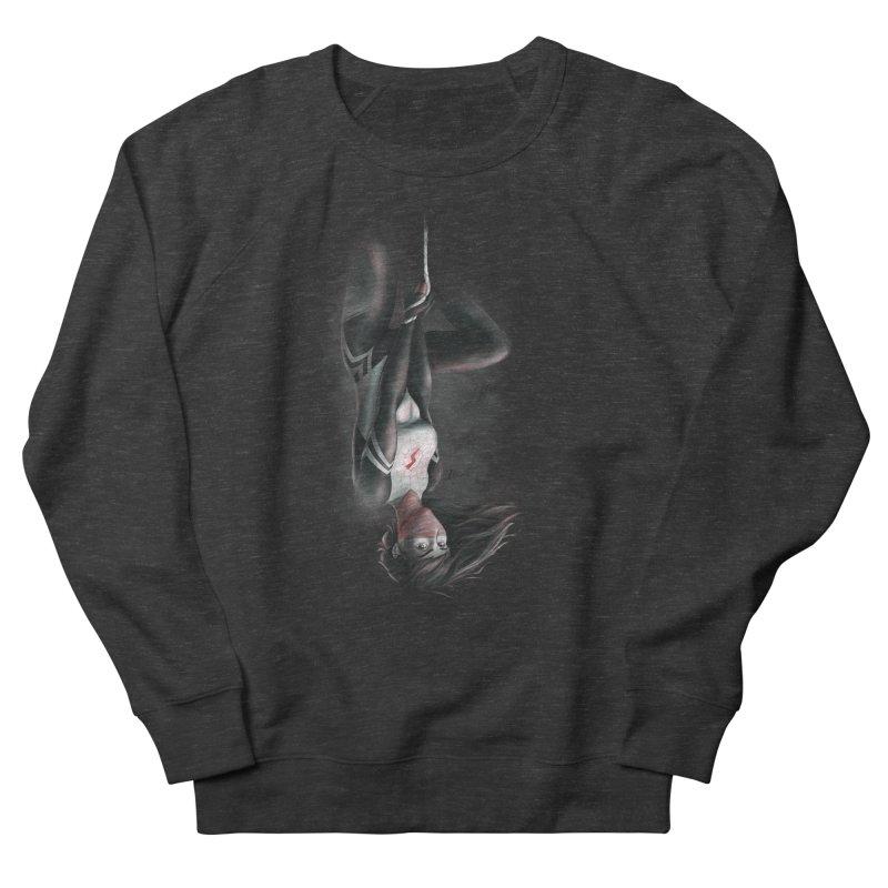 Hanging on Silk Women's Sweatshirt by Laurie's Artist Shop