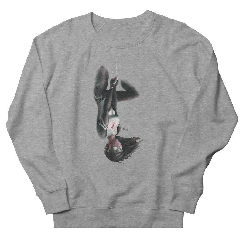 Hanging on Silk Men's Sweatshirt by Laurie's Artist Shop