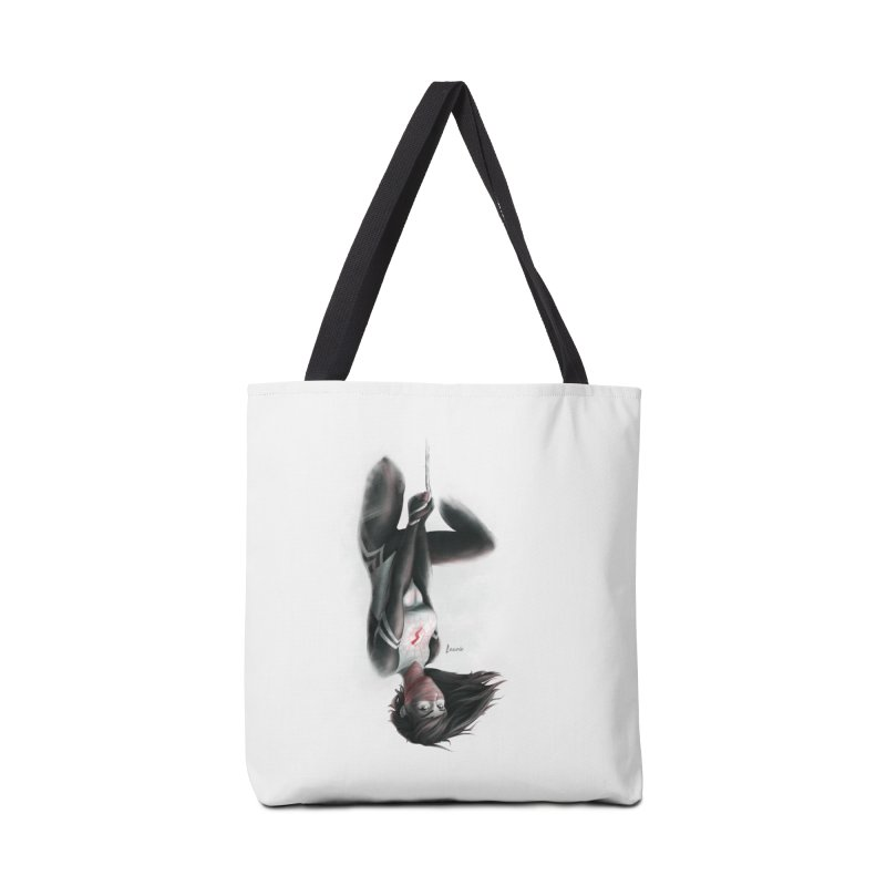 Hanging on Silk Accessories Tote Bag Bag by Laurie's Artist Shop