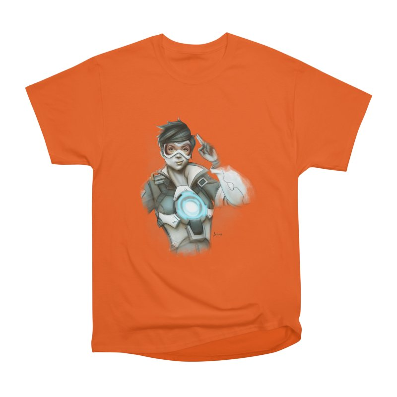 Tracer ready Men's Heavyweight T-Shirt by Laurie's Artist Shop