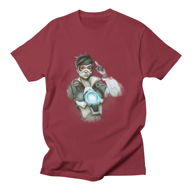 Tracer ready Men's T-shirt by Laurie's Artist Shop