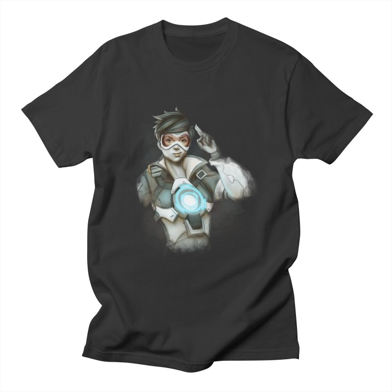 Tracer ready Men's Regular T-Shirt by Laurie's Artist Shop