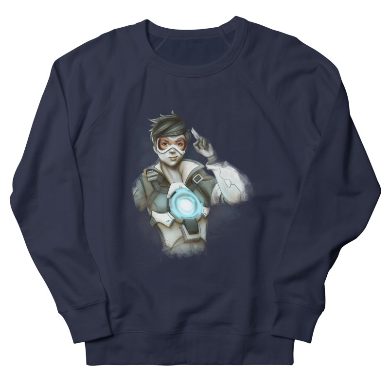 Tracer ready Women's French Terry Sweatshirt by Laurie's Artist Shop
