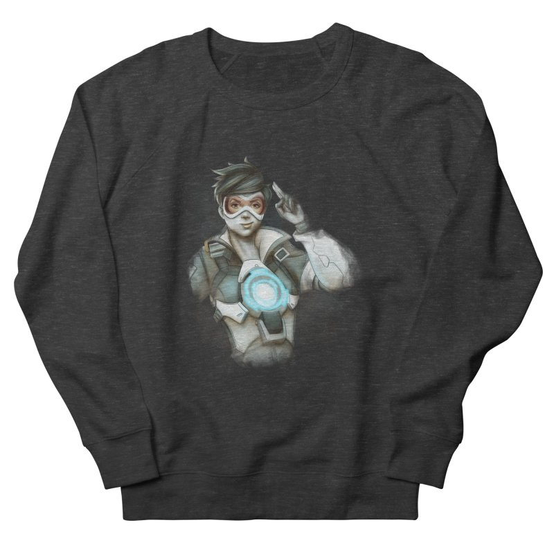 Tracer ready Men's Sweatshirt by Laurie's Artist Shop
