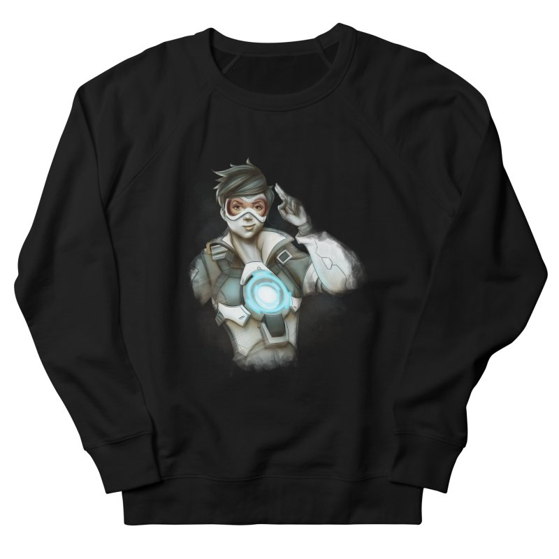 Tracer ready Men's French Terry Sweatshirt by Laurie's Artist Shop
