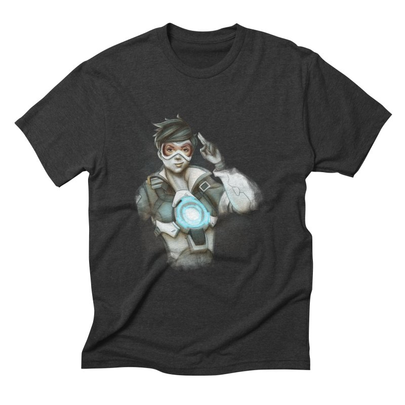 Tracer ready Men's Triblend T-Shirt by Laurie's Artist Shop