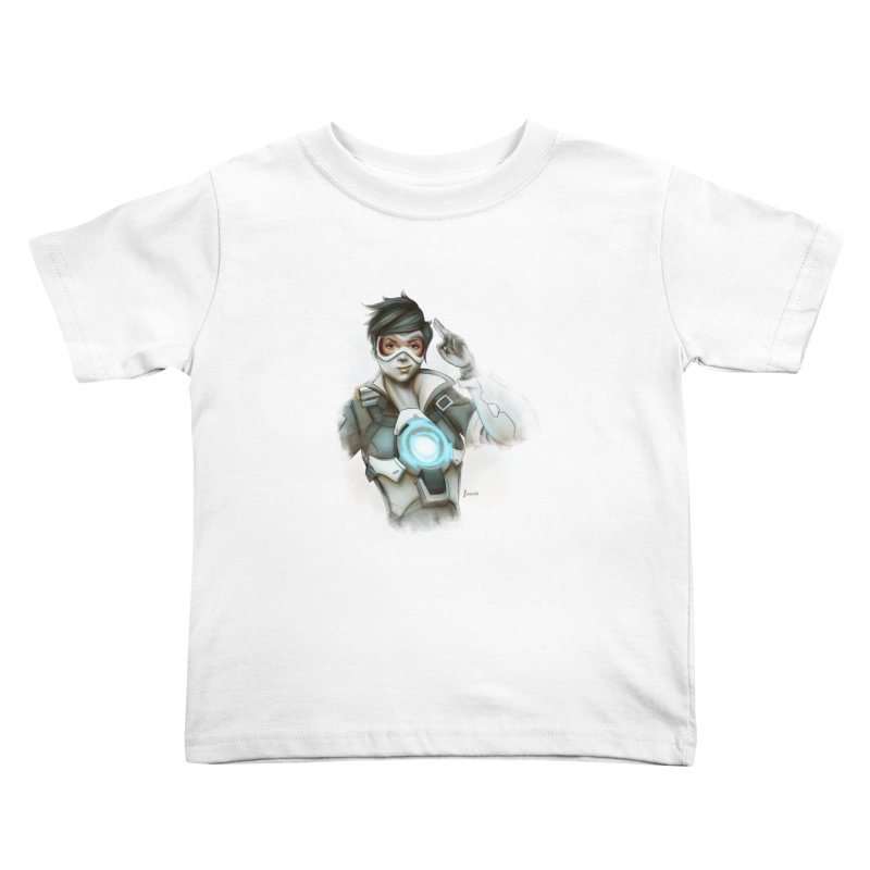 Tracer ready Kids Toddler T-Shirt by Laurie's Artist Shop