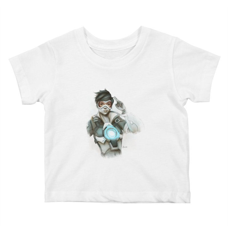 Tracer ready Kids Baby T-Shirt by Laurie's Artist Shop
