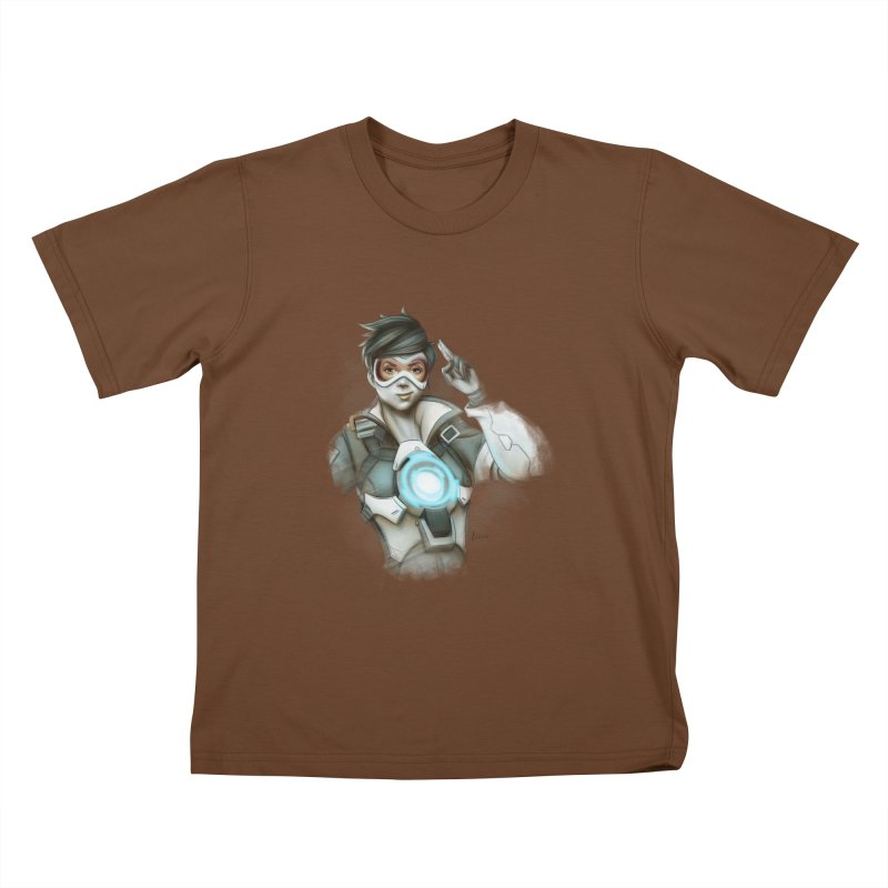 Tracer ready Kids T-Shirt by Laurie's Artist Shop