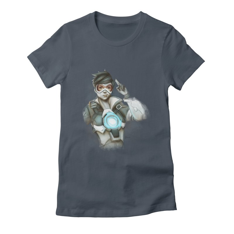 Tracer ready Women's Fitted T-Shirt by Laurie's Artist Shop