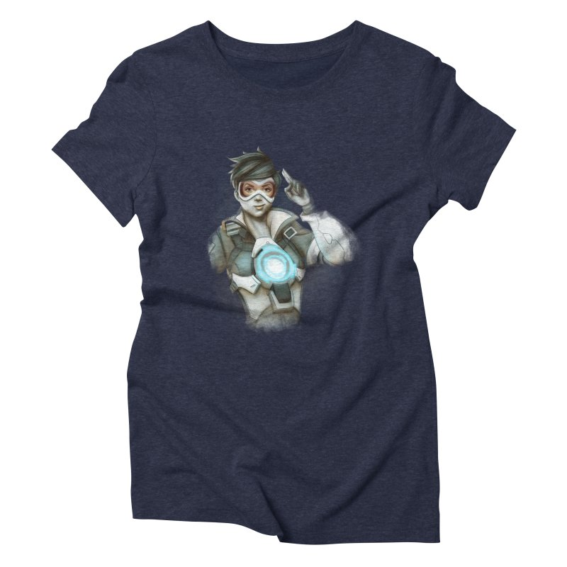 Tracer ready Women's Triblend T-Shirt by Laurie's Artist Shop