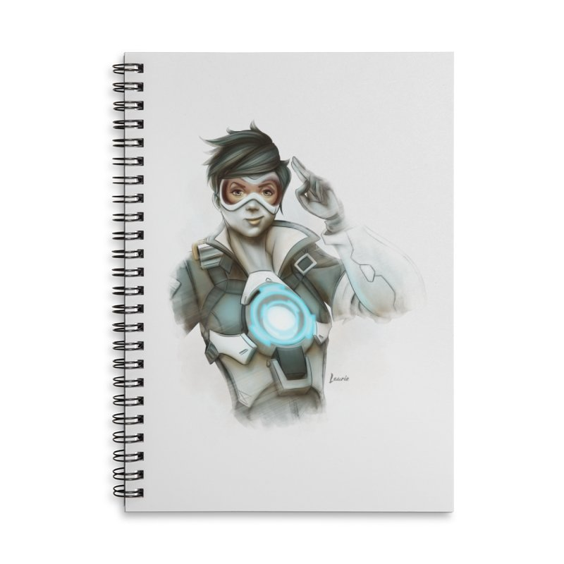 Tracer ready Accessories Lined Spiral Notebook by Laurie's Artist Shop