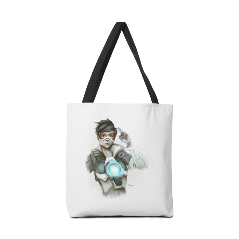 Tracer ready Accessories Tote Bag Bag by Laurie's Artist Shop