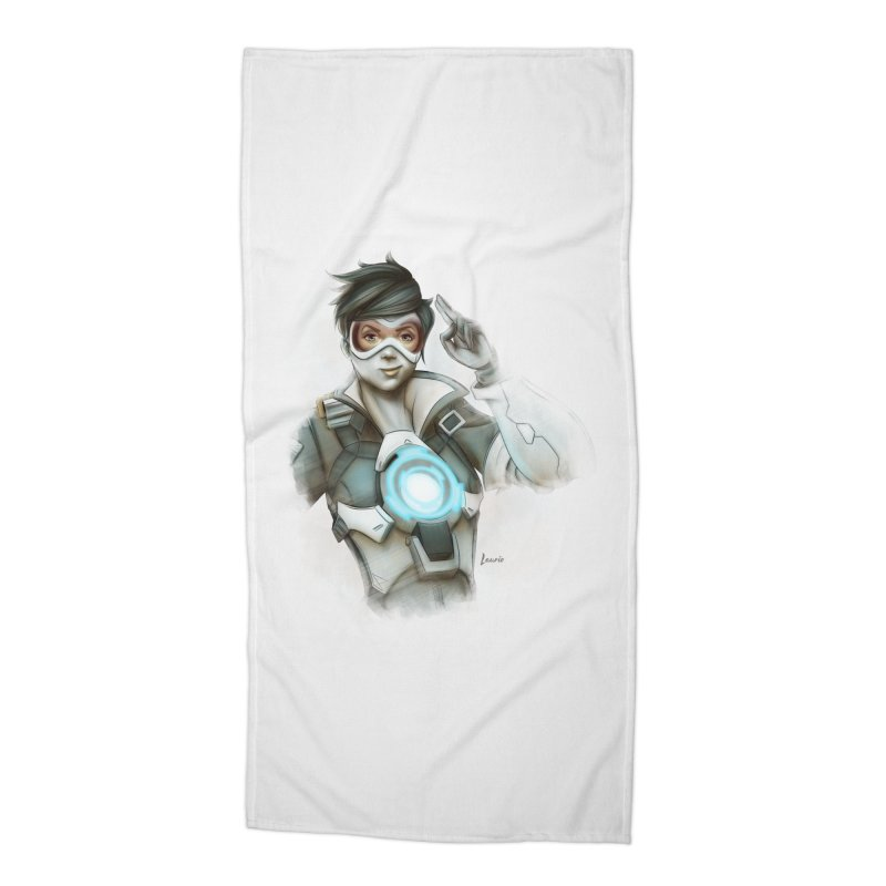 Tracer ready Accessories Beach Towel by Laurie's Artist Shop