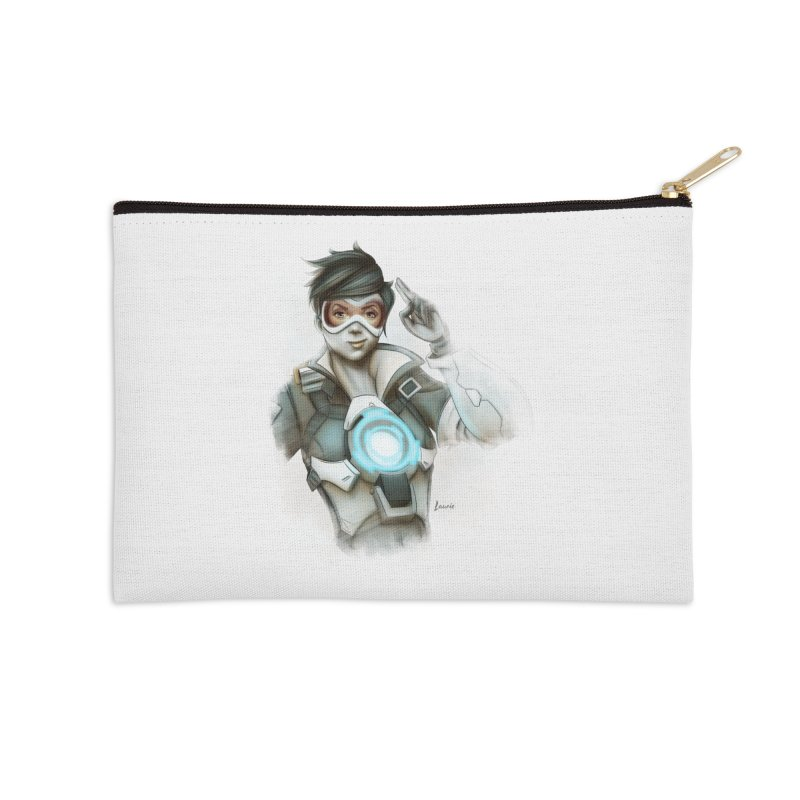 Tracer ready Accessories Zip Pouch by Laurie's Artist Shop
