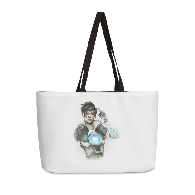Tracer ready Accessories Weekender Bag Bag by Laurie's Artist Shop