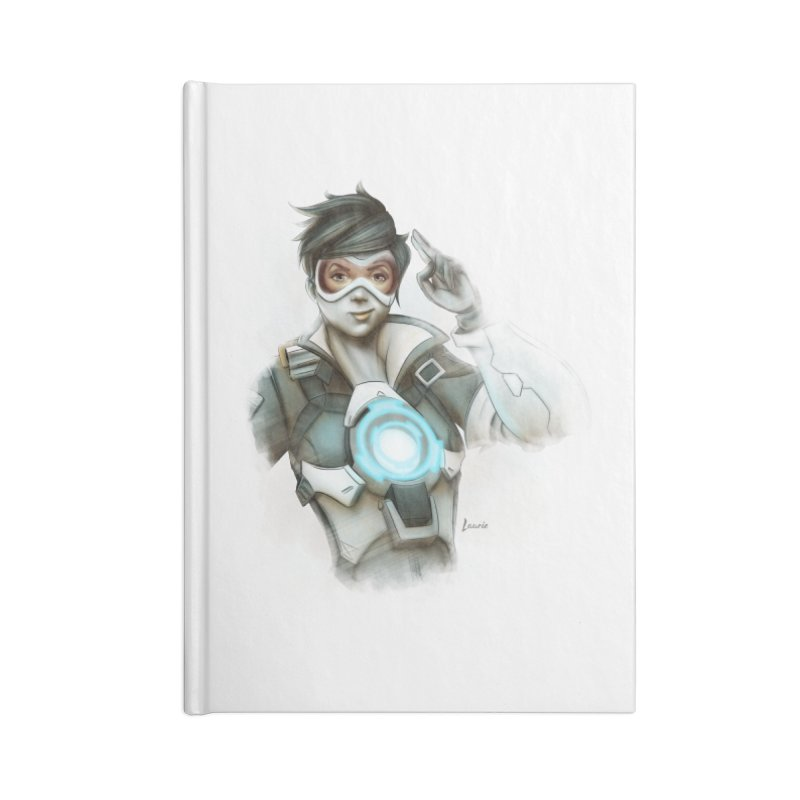 Tracer ready Accessories Lined Journal Notebook by Laurie's Artist Shop