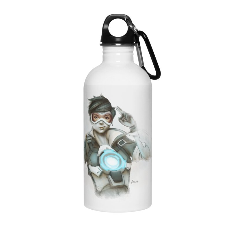 Tracer ready Accessories Water Bottle by Laurie's Artist Shop