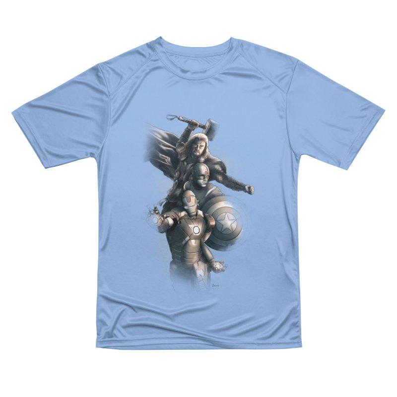 Avengers - First Assemble Women's T-Shirt by Laurie's Artist Shop
