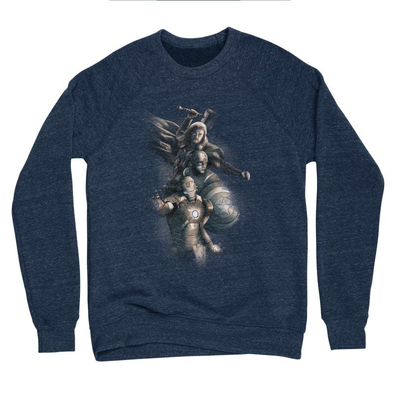 Avengers - First Assemble Women's Sponge Fleece Sweatshirt by Laurie's Artist Shop