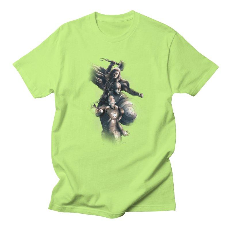 Avengers - First Assemble Men's Regular T-Shirt by Laurie's Artist Shop