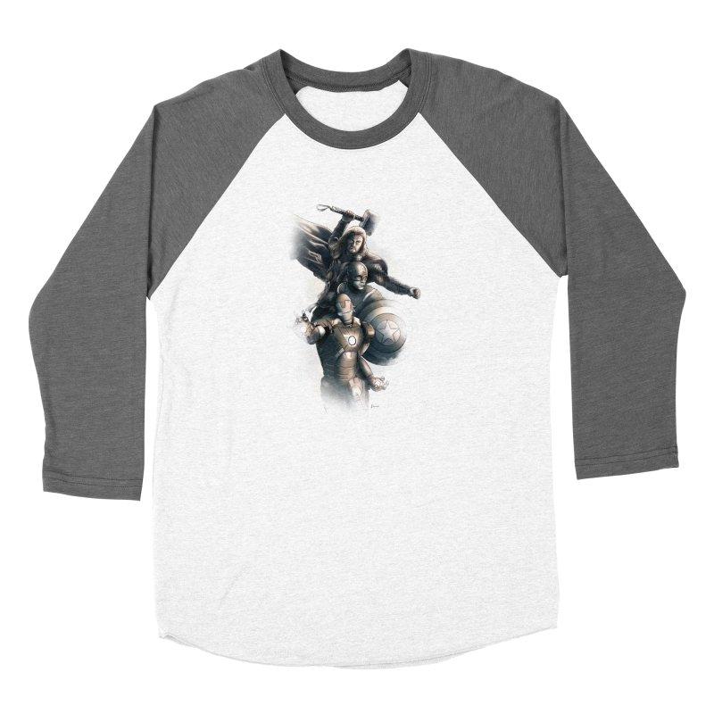Avengers - First Assemble Women's Longsleeve T-Shirt by Laurie's Artist Shop