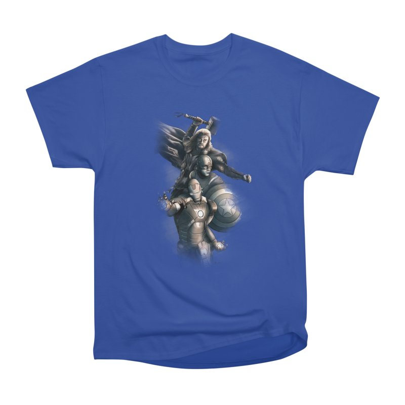 Avengers - First Assemble Men's Classic T-Shirt by Laurie's Artist Shop