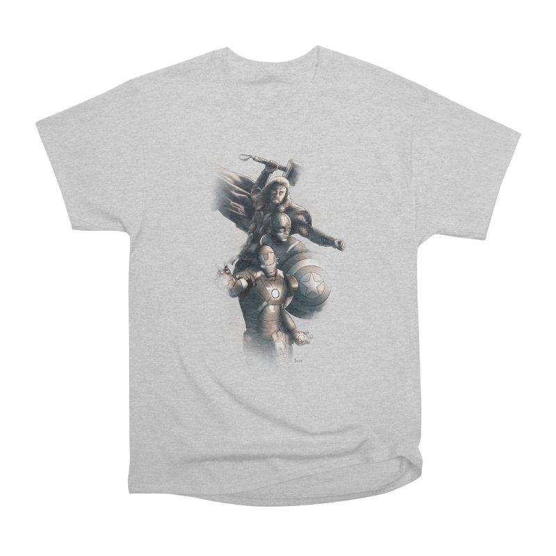 First Assemble Men's Classic T-Shirt by Laurie's Artist Shop