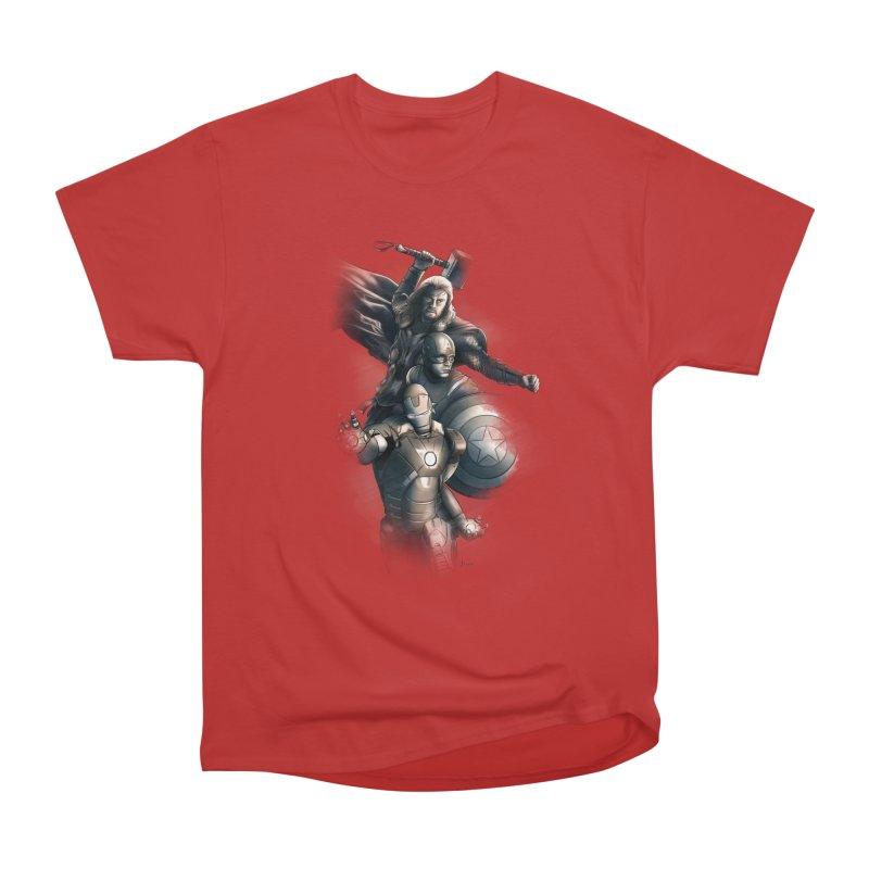 First Assemble Women's Classic Unisex T-Shirt by Laurie's Artist Shop