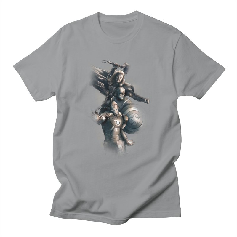 First Assemble Men's T-shirt by Laurie's Artist Shop