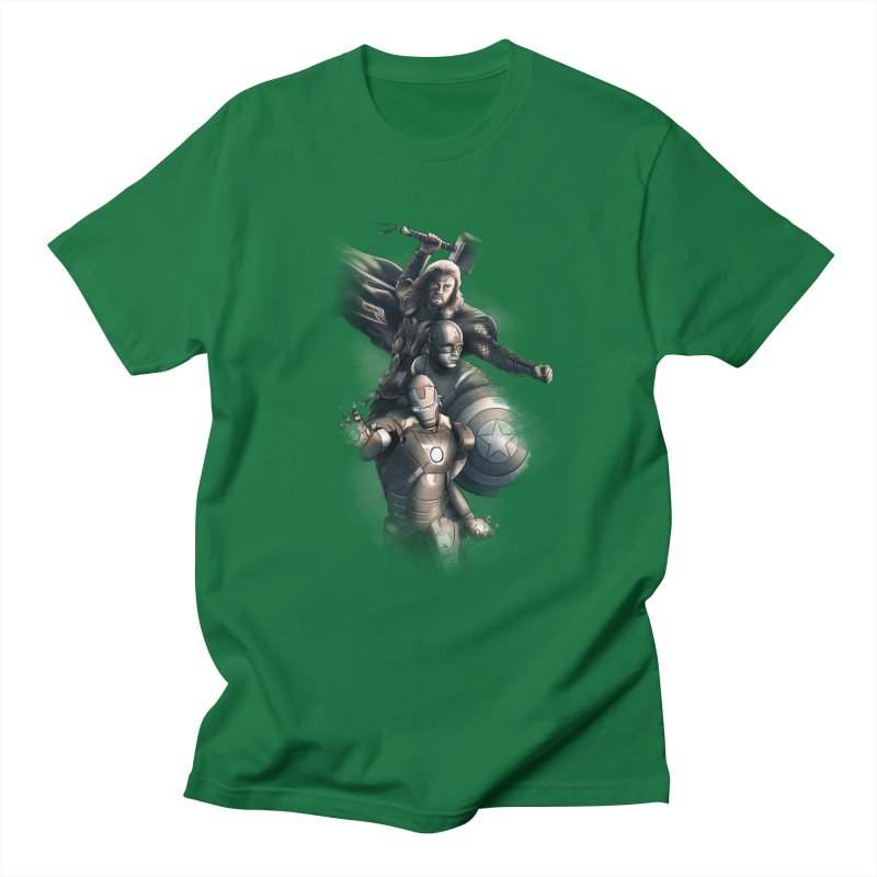 First Assemble Men's T-shirt by Laurie's Artist Shop