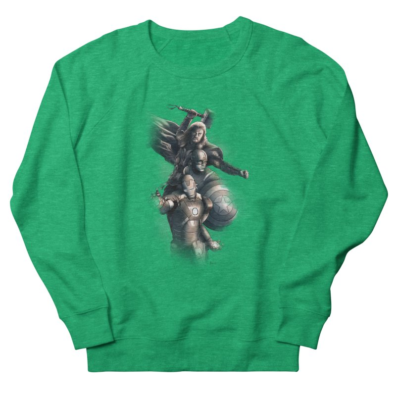 Avengers - First Assemble Women's Sweatshirt by Laurie's Artist Shop