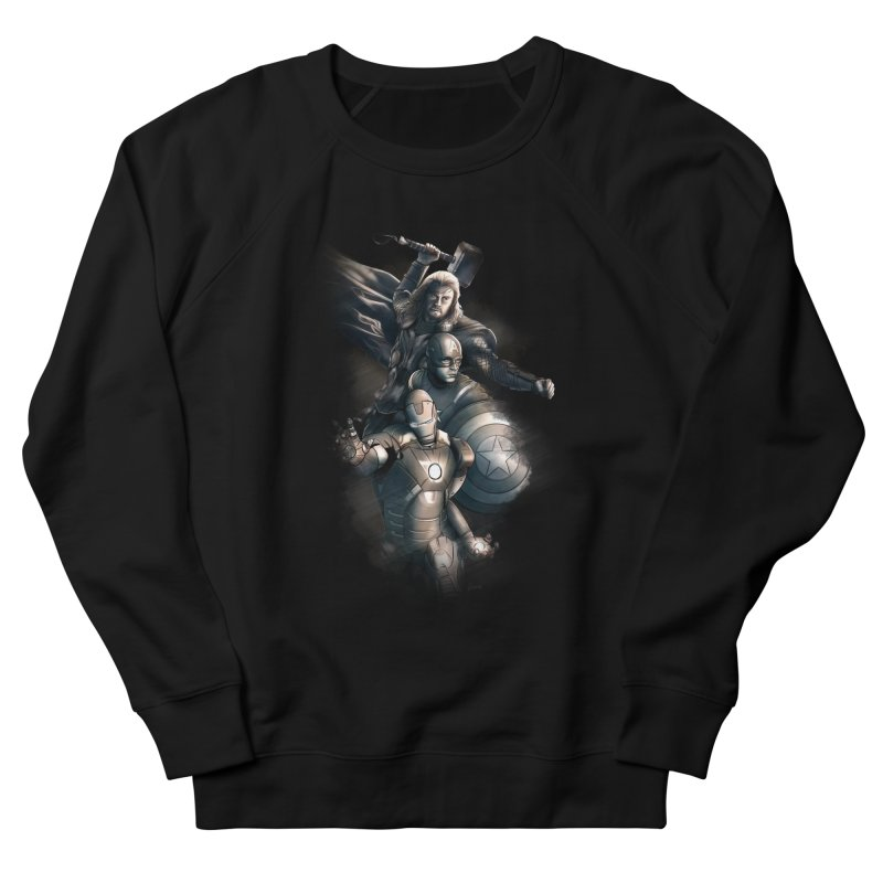 First Assemble Men's Sweatshirt by Laurie's Artist Shop