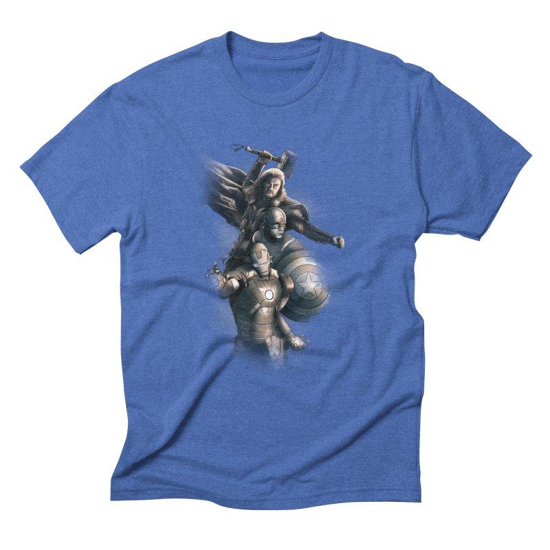 Avengers - First Assemble Men's T-Shirt by Laurie's Artist Shop