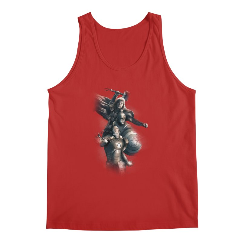 First Assemble Men's Tank by Laurie's Artist Shop