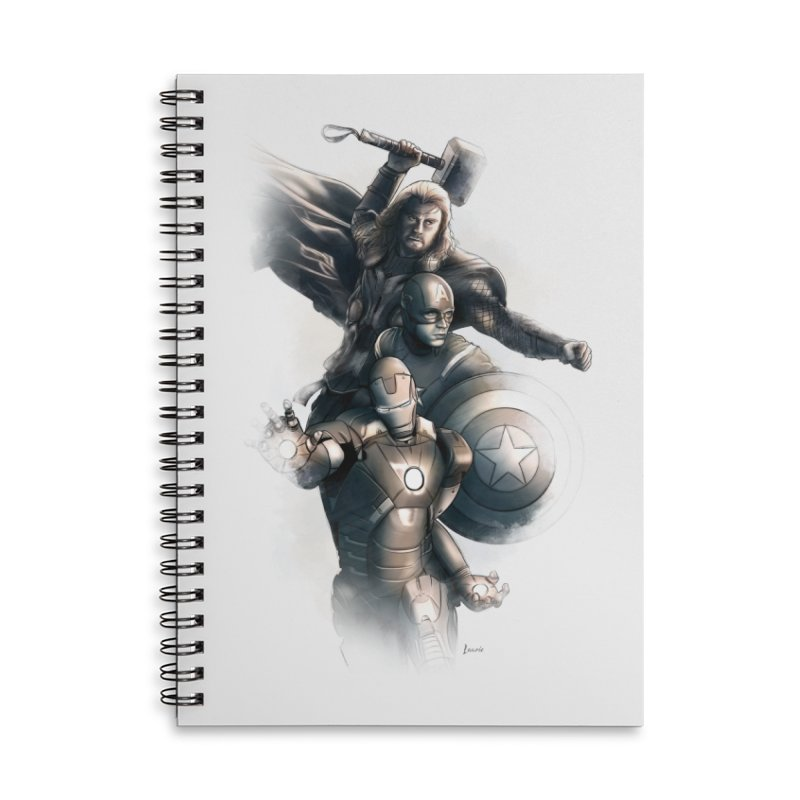 Avengers - First Assemble Accessories Notebook by Laurie's Artist Shop