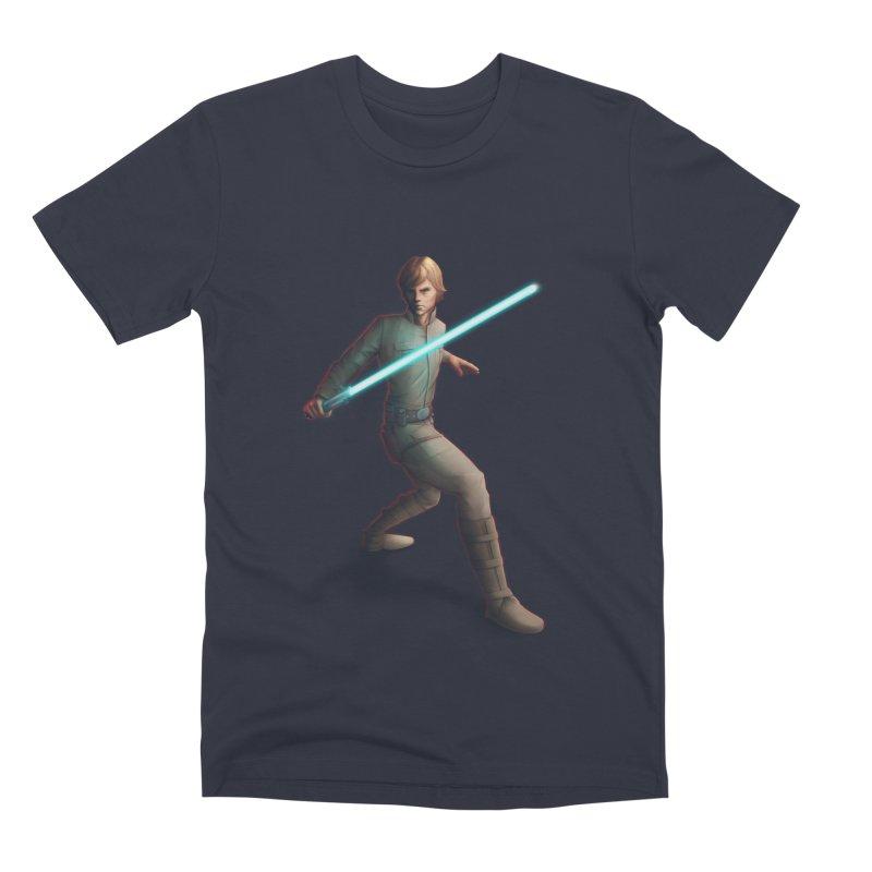 My worst enemy Men's Premium T-Shirt by Laurie's Artist Shop