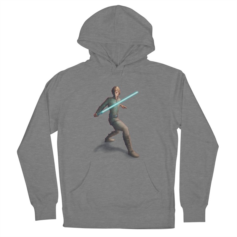 My worst enemy Men's French Terry Pullover Hoody by Laurie's Artist Shop