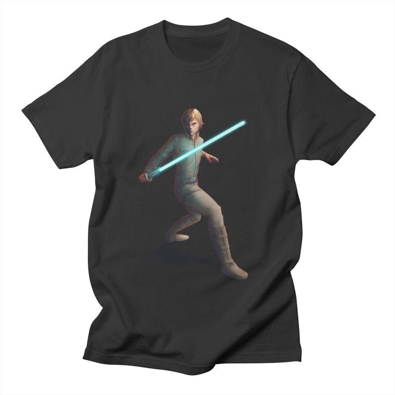 My worst enemy Men's Regular T-Shirt by Laurie's Artist Shop