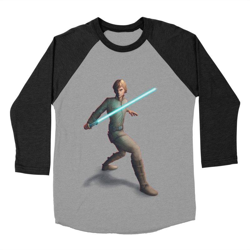 My worst enemy Men's Baseball Triblend Longsleeve T-Shirt by Laurie's Artist Shop
