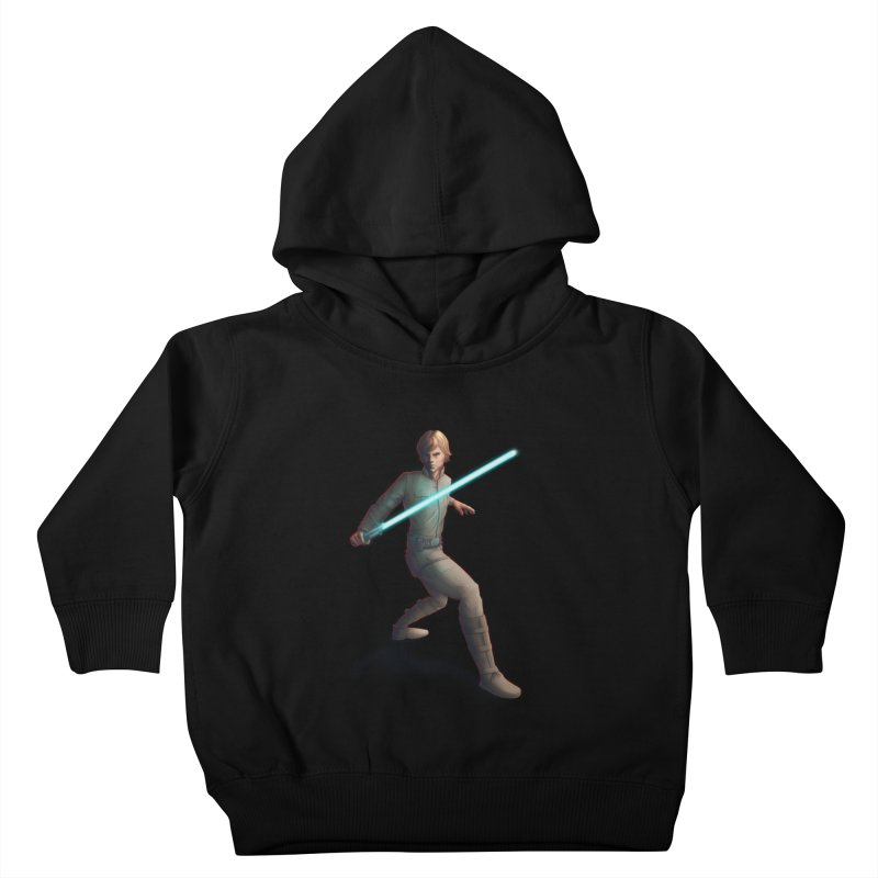 My worst enemy Kids Toddler Pullover Hoody by Laurie's Artist Shop