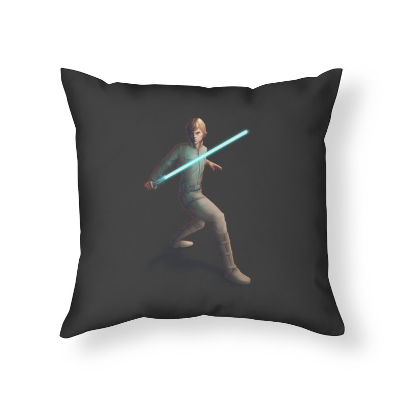 My worst enemy Home Throw Pillow by Laurie's Artist Shop