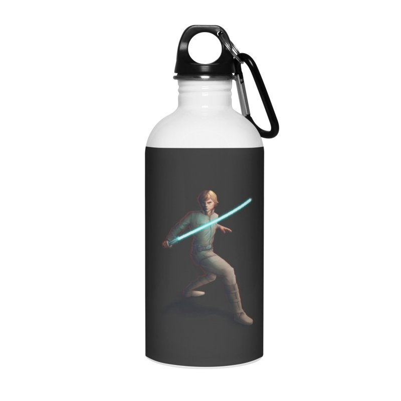 My worst enemy Accessories Water Bottle by Laurie's Artist Shop
