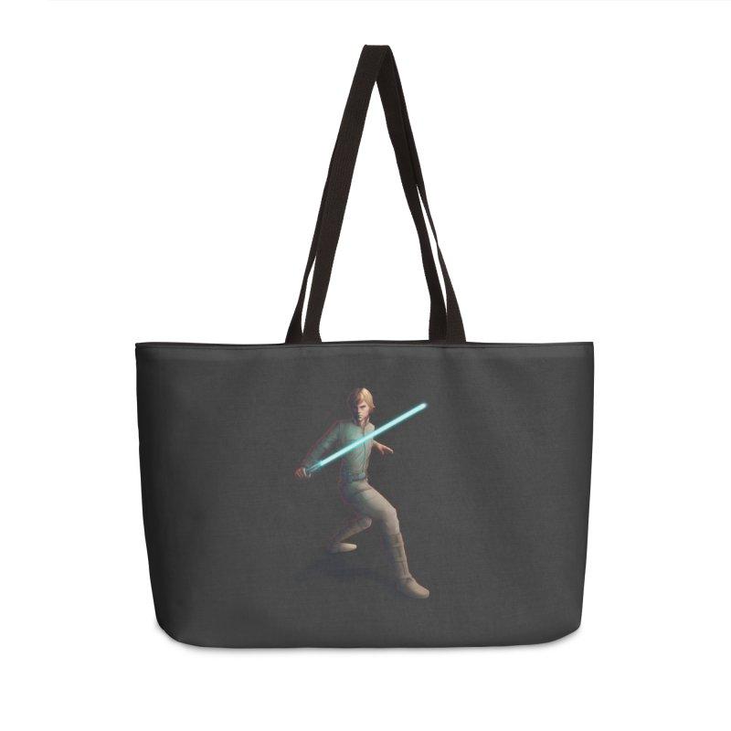 My worst enemy Accessories Weekender Bag Bag by Laurie's Artist Shop