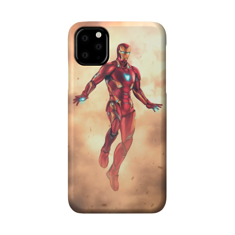Bleeding Edge Iron Man Accessories Phone Case by Laurie's Artist Shop