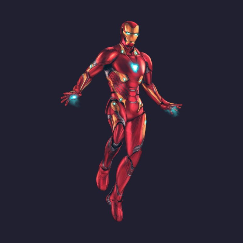 Bleeding Edge Iron Man Accessories Phone Case by Laurie's Artist Shop