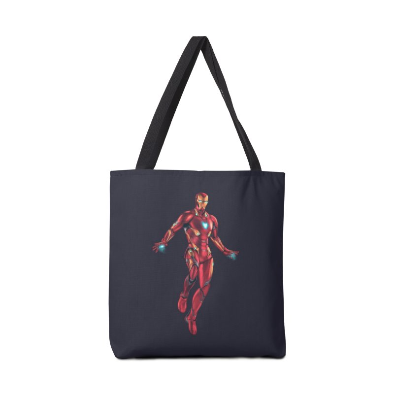 Bleeding Edge Iron Man Accessories Bag by Laurie's Artist Shop