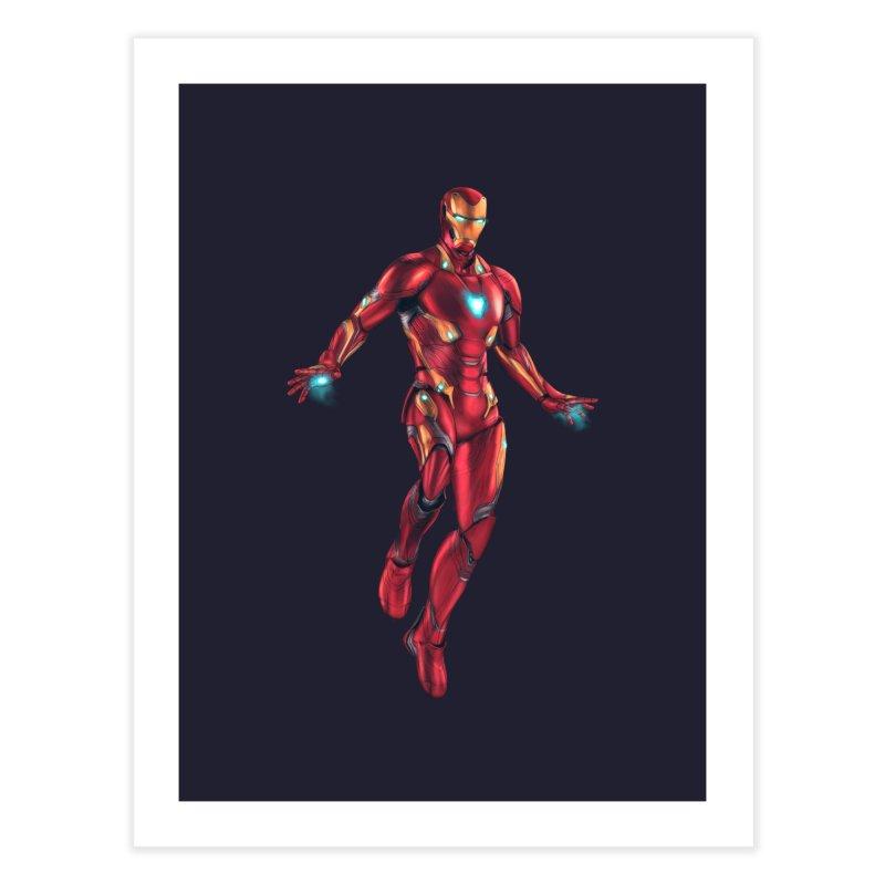 Bleeding Edge Iron Man Home Fine Art Print by Laurie's Artist Shop