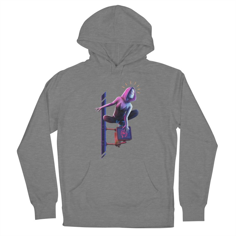 Gwen into the Spider-Verse Women's Pullover Hoody by Laurie's Artist Shop
