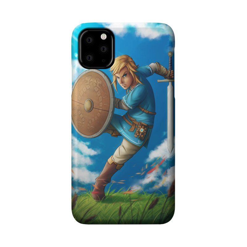 Link - Breath of the Wind Accessories Phone Case by Laurie's Artist Shop